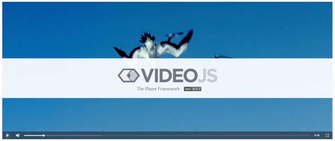 Video.js Player Framework
