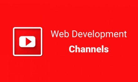 14 Best YouTube Channels for Web Developer