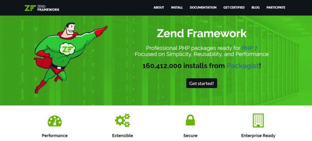 Zend Framework - Professional PHP Framework
