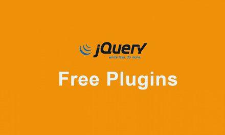 20 Best Free jQuery Plugins