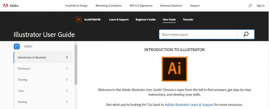 Adobe.com Illustrator Guide