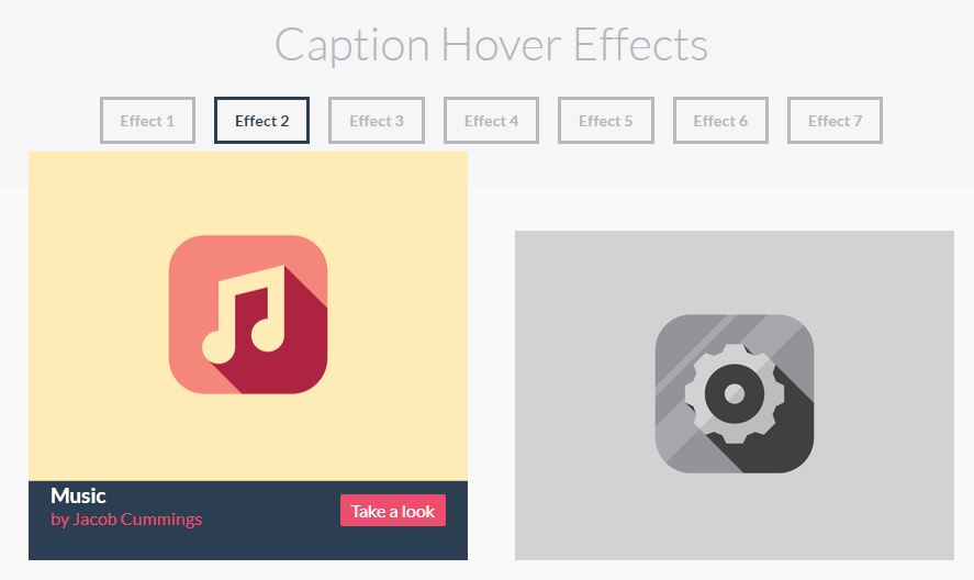 Caption Hover Effect