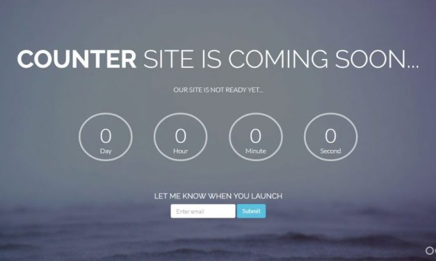 10+ Free HTML5 Coming Soon Templates