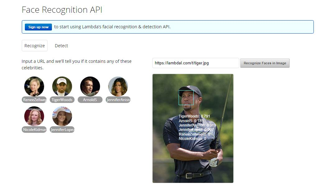 Face Recognition API
