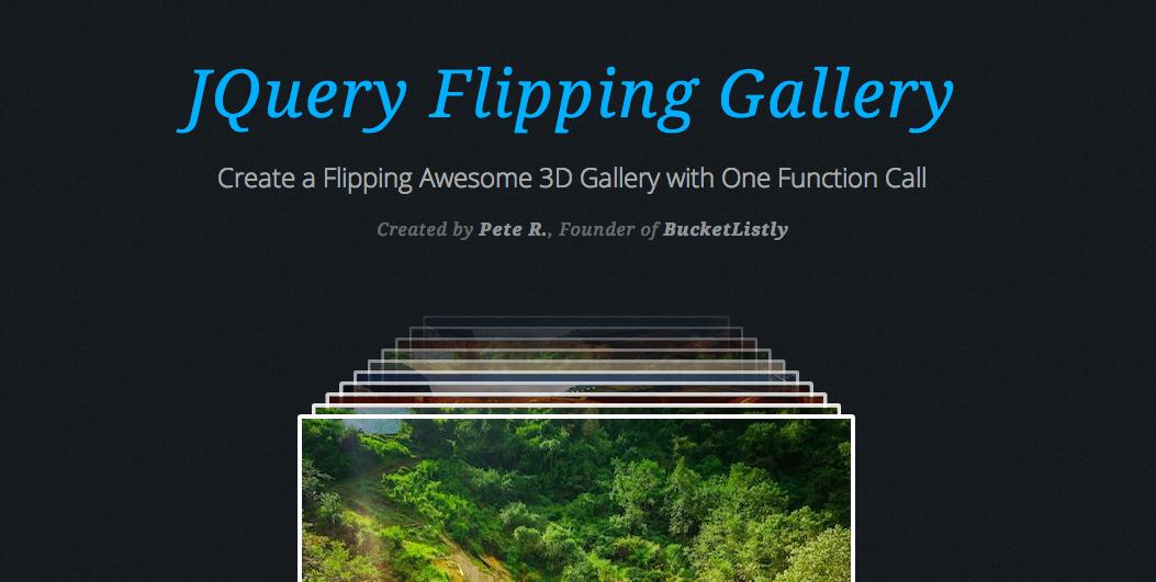 Flipping Gallery