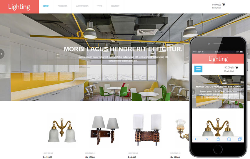 Lighting Ecommerce