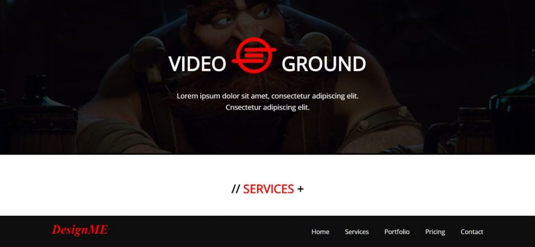 Video Background CSS Templates