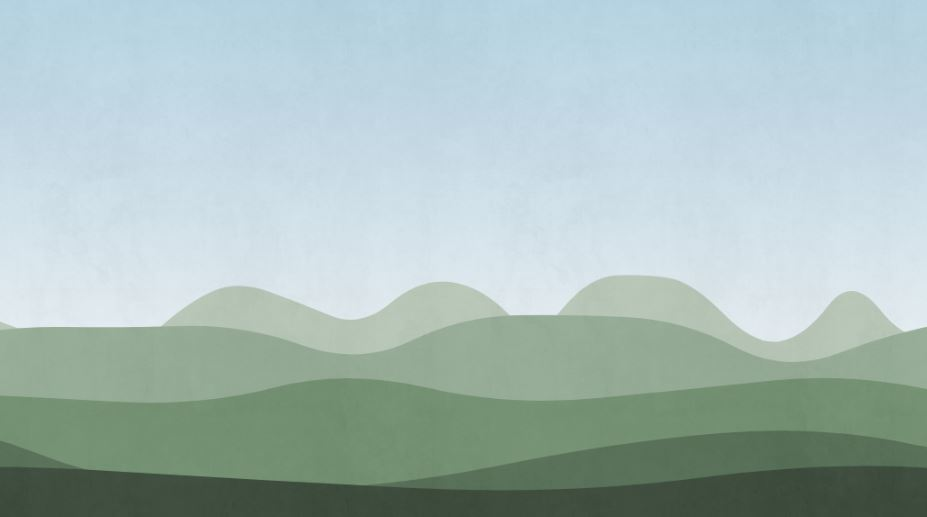 Canvas Parallax Mountains