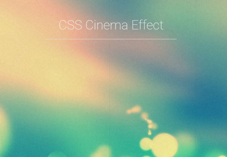 Pure CSS Effect