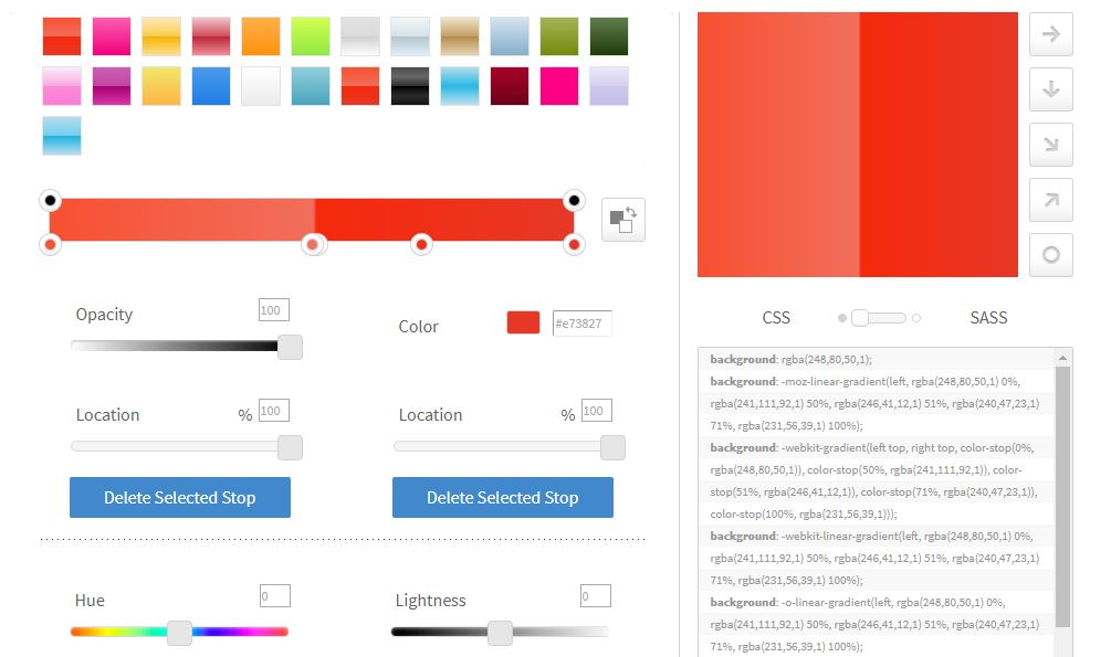 Ultimate CSS Color Generator