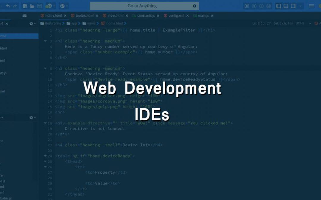 Web Development IDEs
