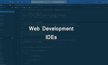 Top 10 Web Development IDEs