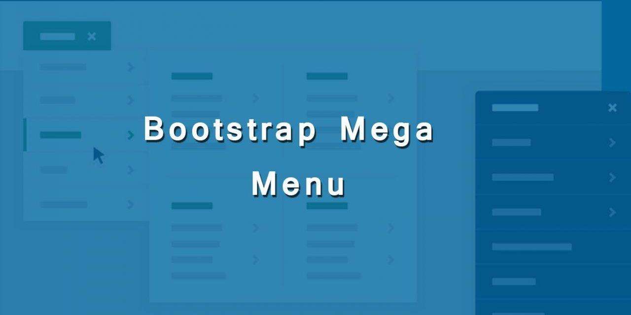 Responsive Bootstrap Mega Menu Code Snippets
