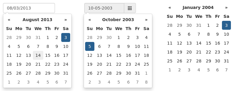 Bootstrap Datepicker