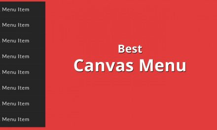 16+ Best Free Responsive Canvas Menu