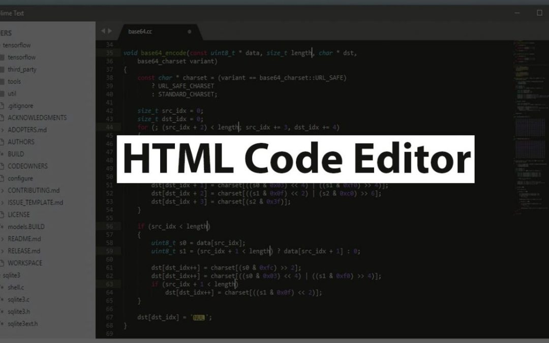 7 Best HTML Code Editor for Web Developer