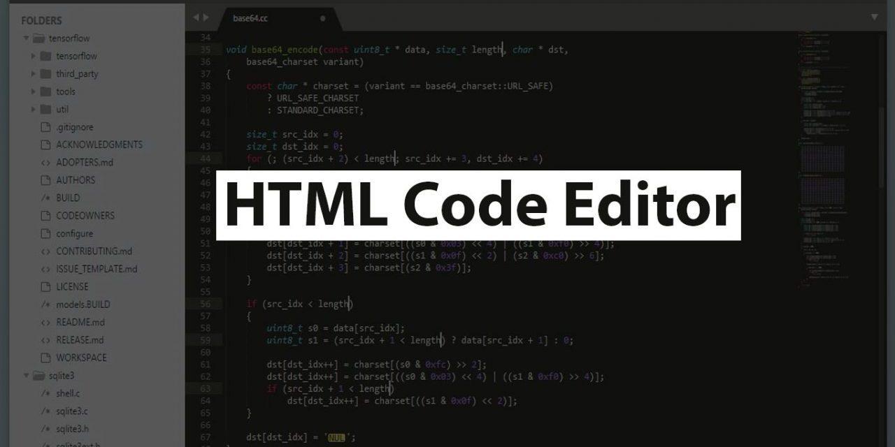 7 Best HTML Code Editor for Web Developer