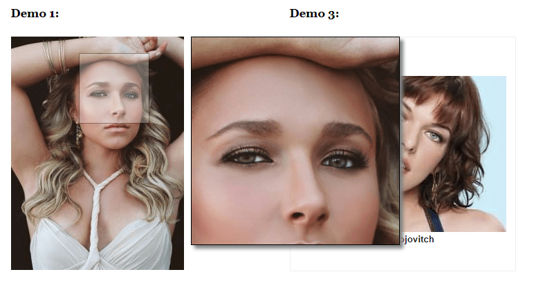 Image Zoom Effect on Hover