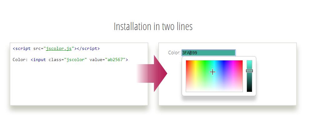 JS Color - Javascript Web Color Picker