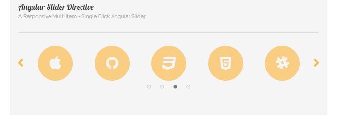 Multi Item Single Click Slide