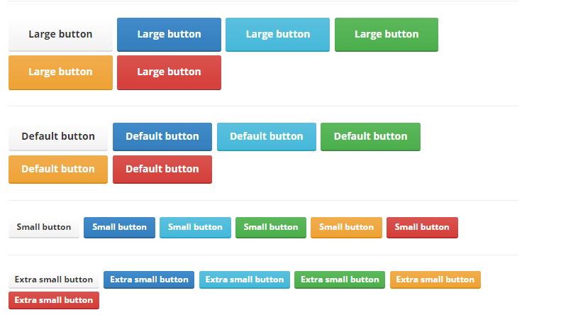 Better Bootstrap Buttons