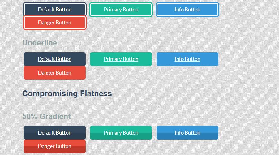 Bootstrap Flat UI Buttons