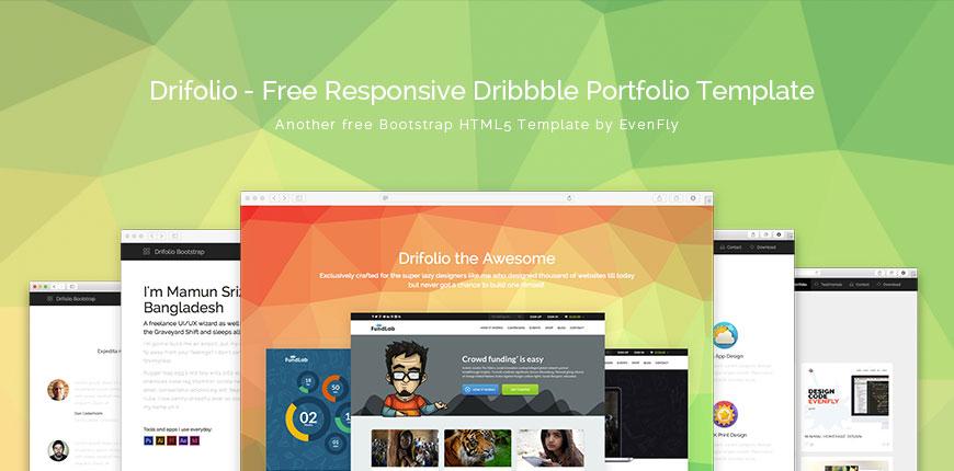 Drifolio - Bootstrap Template