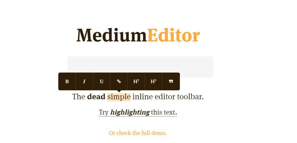 MediumEditor