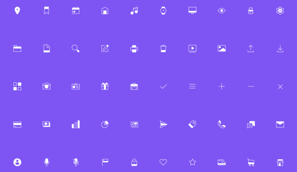 90 Free Icons for Sketch and Illustrator