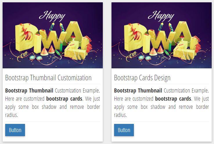 Beautiful Bootstrap Card Thumbnail