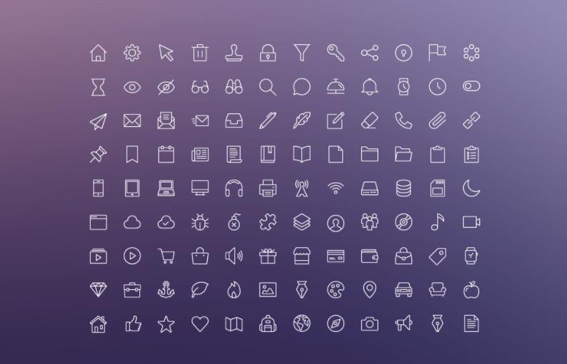 iOS Edge Free Icons