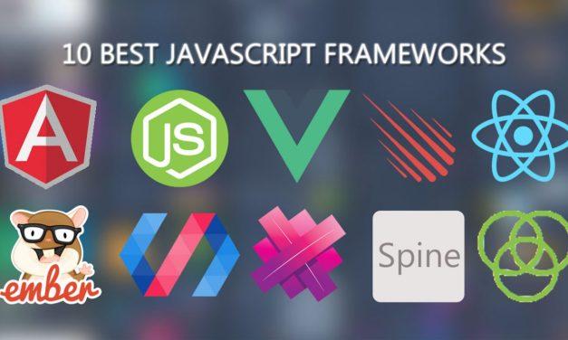 10 Best JavaScript Frameworks [Updated 2020]