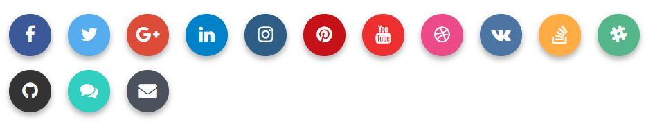 Bootstrap Social Buttons-2-Floating