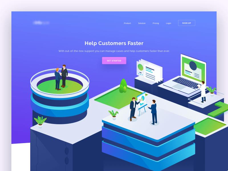 Customer Support Website