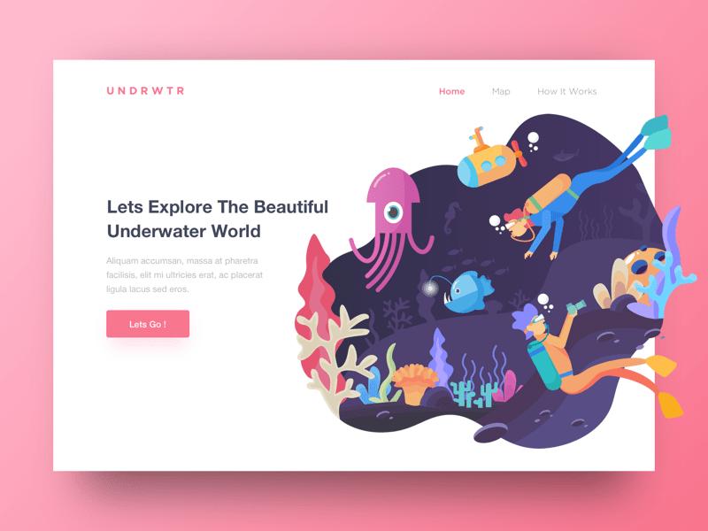 Header Underwater World