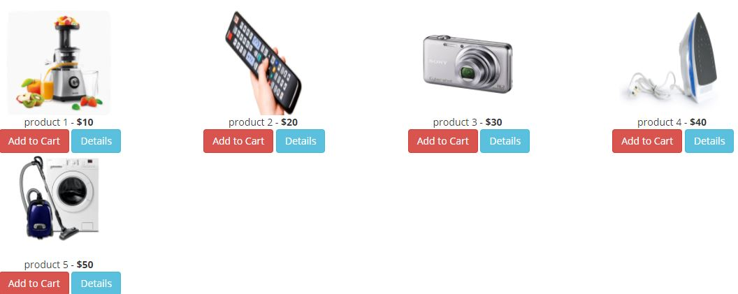 Simple Shopping Cart Plugin jQuery and Bootstrap