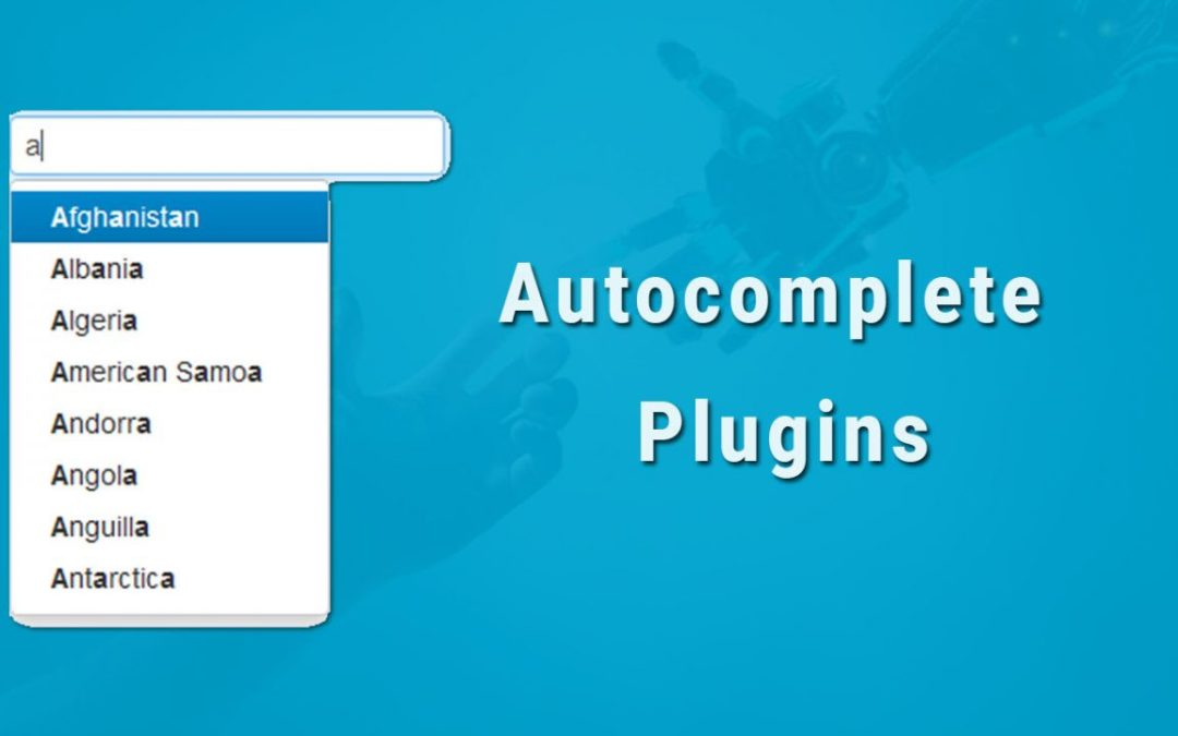 12+ jQuery Autocomplete Plugins