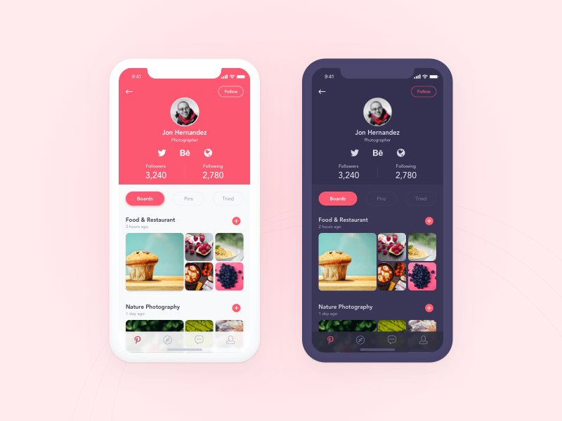 Daily UI Challenge 6 - User Profile