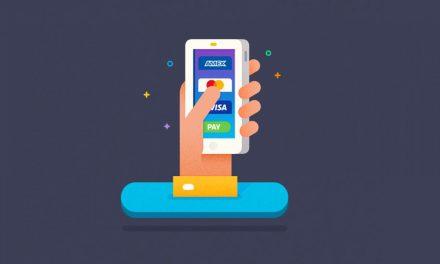 E-wallet Home Screen UI Design
