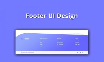 20+ Creative Website Footer UI Design