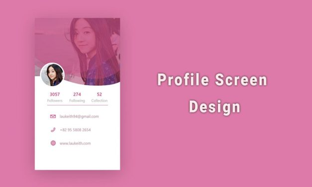 20+ Mobile App Profile Screen UI Design [Updated]