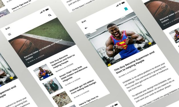 25+ News App Screen UI Design Inspiration