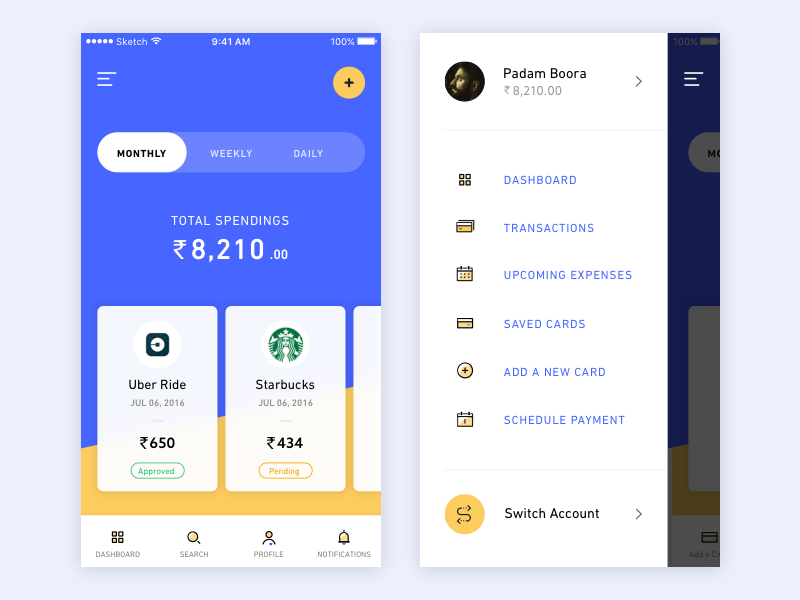 Spending App - Another Exploration