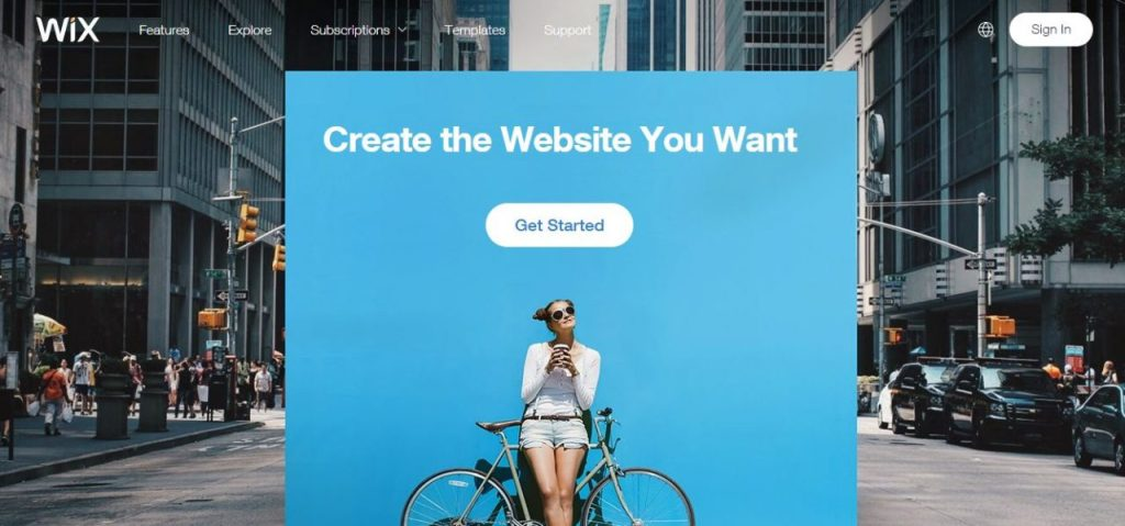 Wix - Free Website Builder