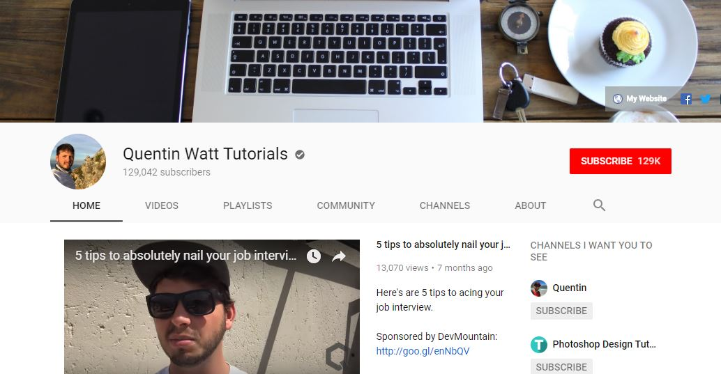 Quentin Watt Tutorials