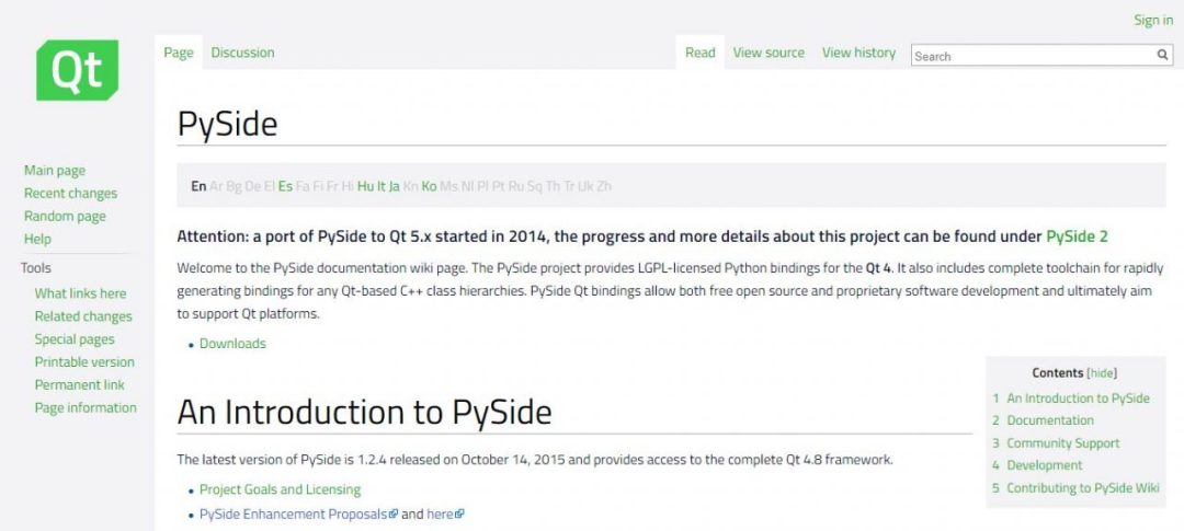 PySide
