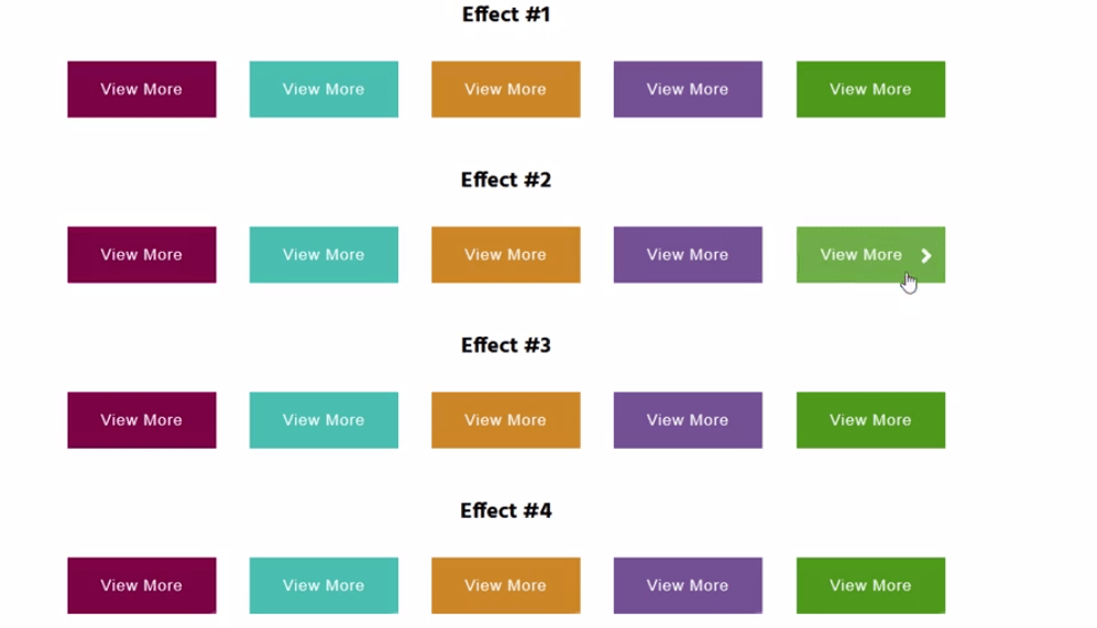 Mouse hover effect with CSS