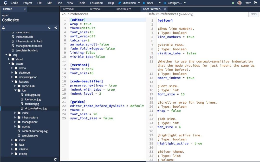 Codio : Best Cloud IDE