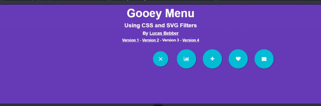 Examples of css toggle navigation menu