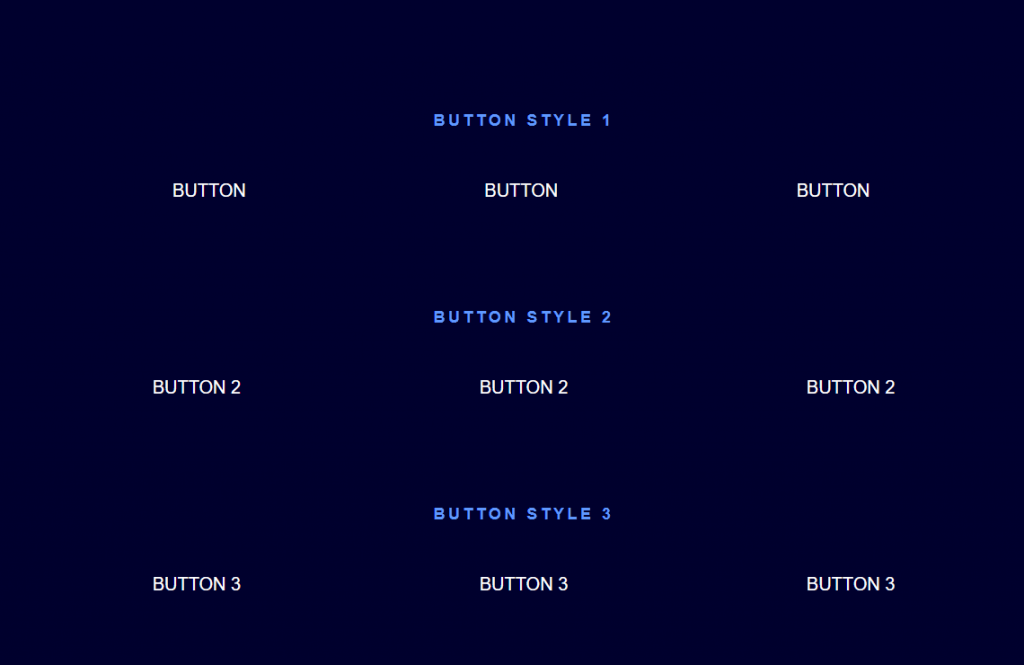 Collection of Cool Button Hover Effects